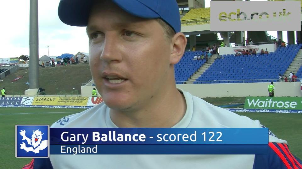 Ballance delighted with ton