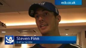 Steven Finn exclusive