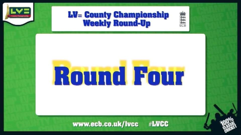 LV= County Championship - round four