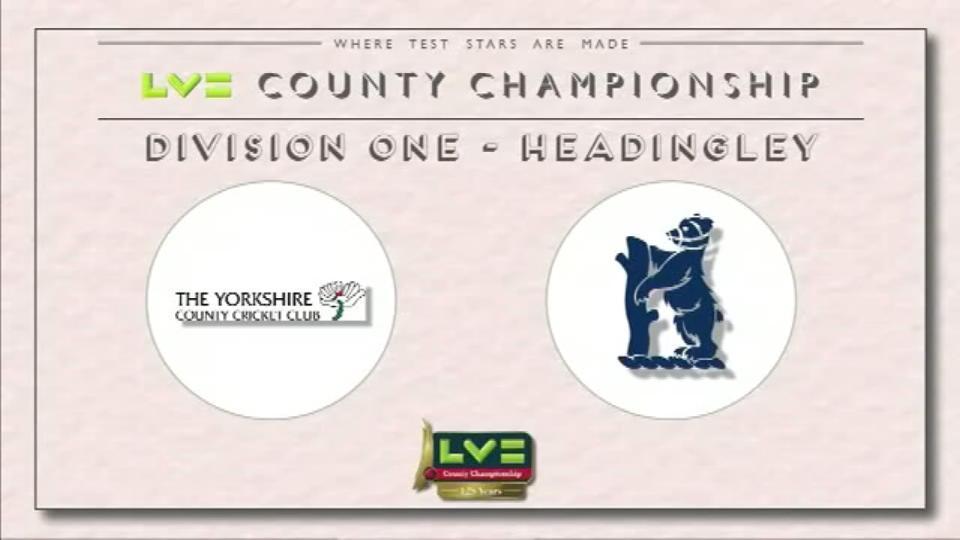 Yorkshire v Warwickshire - Day 1