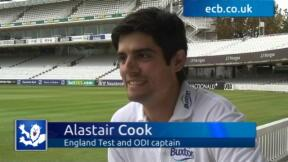 Cook chats to ecb.co.uk