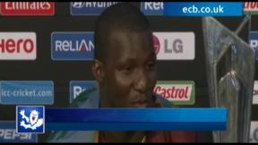 Sammy dedicates win to West Indies fans