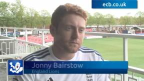 Jonny Bairstow exclusive interview