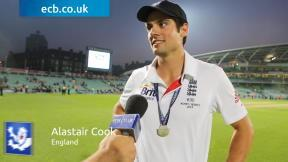 Cook describes lifting the Urn