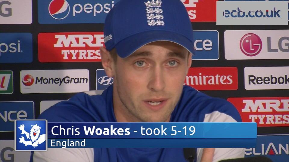 Five-fer hero Woakes delighted with bowling role