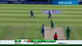 1st NatWest T20 - South Africa innings
