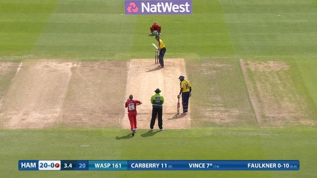 Hampshire v Lancashire - Natwest T20 Blast, Hampshire Innings