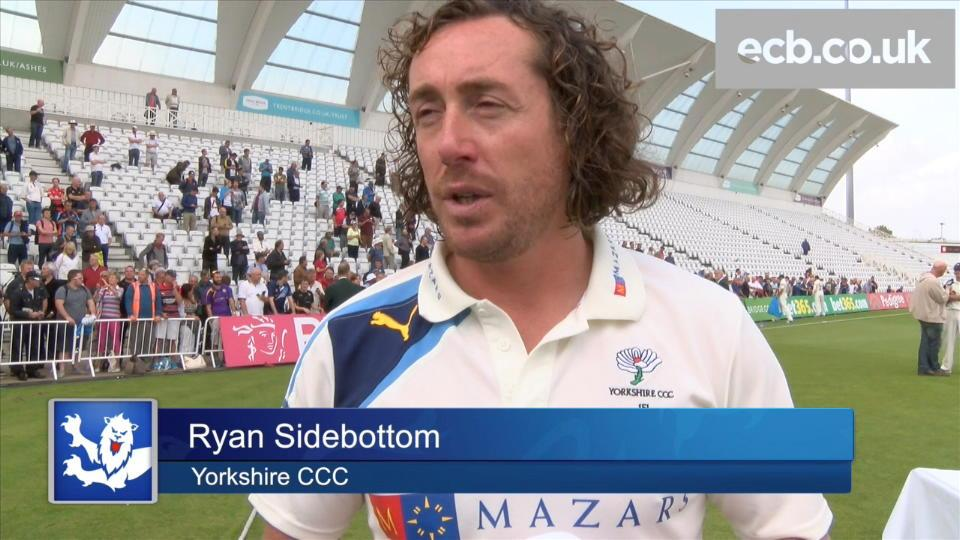 Sidebottom - the four-times Champion