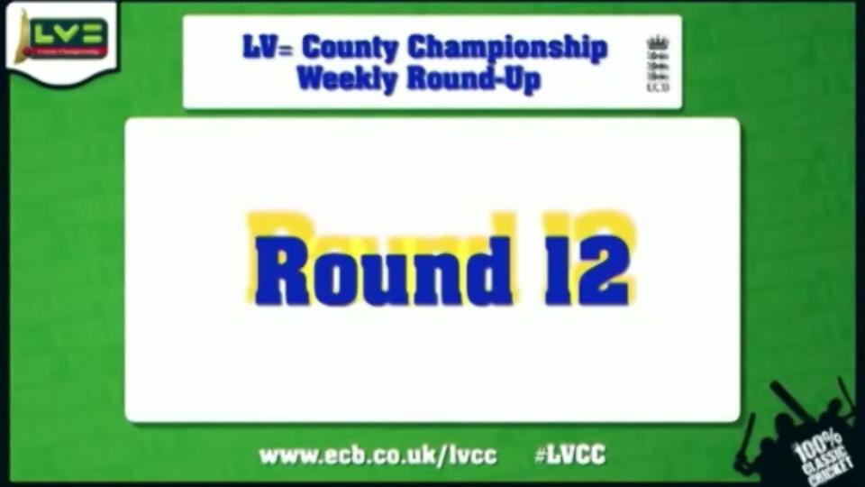LV= County Championship - Round 12 highlights
