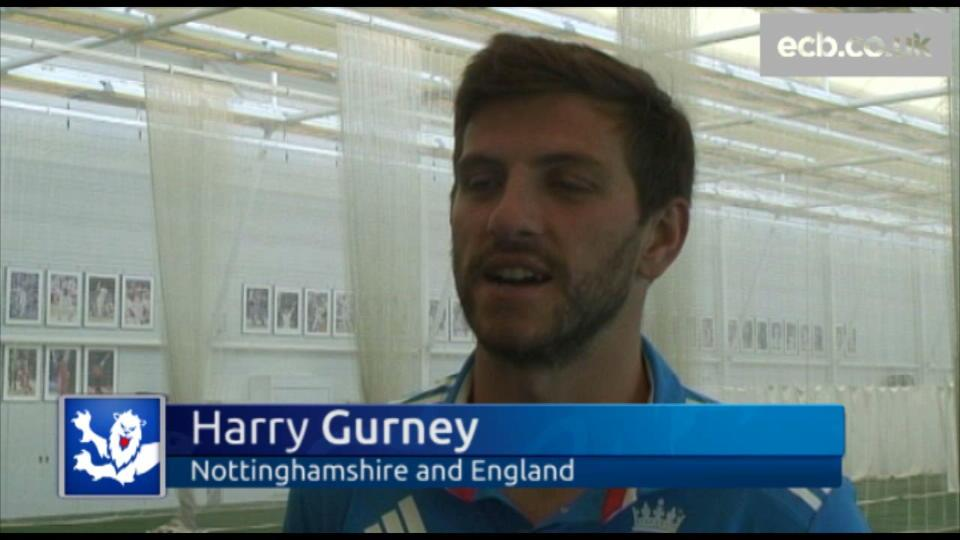 Gurney targets first England cap