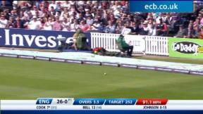 2nd NatWest ODI -The Kia Oval - England innings