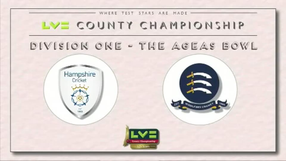 Hampshire v Middlesex - Day 1