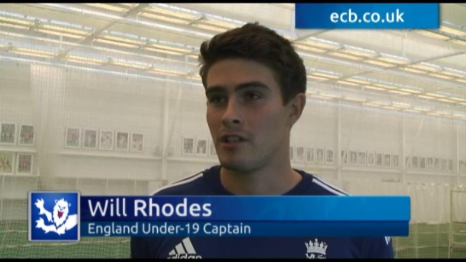 Rhodes proud to lead Under-19s