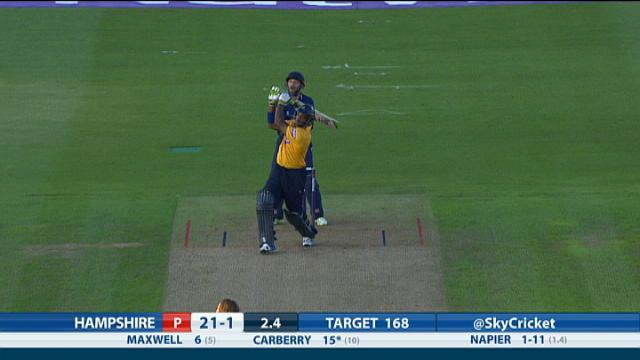 Essex v Hampshire - Natwest T20 Blast, Hampshire Innings