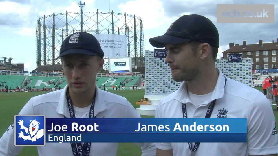 Root and Anderson thrilled with win