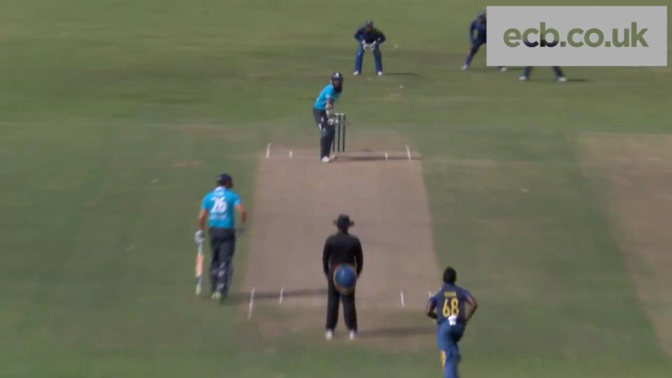 Highlights of Moeen Ali's 56 from 37 balls - England v Sri Lanka A