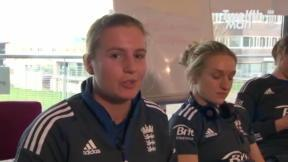 England Women - Twitter chat