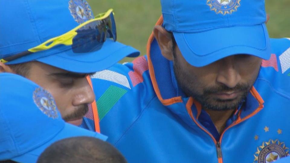 England v India, 3rd ODI, England innings