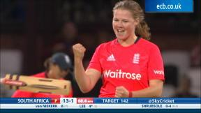 England Women v South Africa Women, NatWest Women's International T20 - South Africa Innings