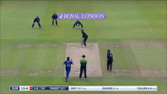 Gloucestershire v Surrey - Royal London One Day Cup - Surrey Innings