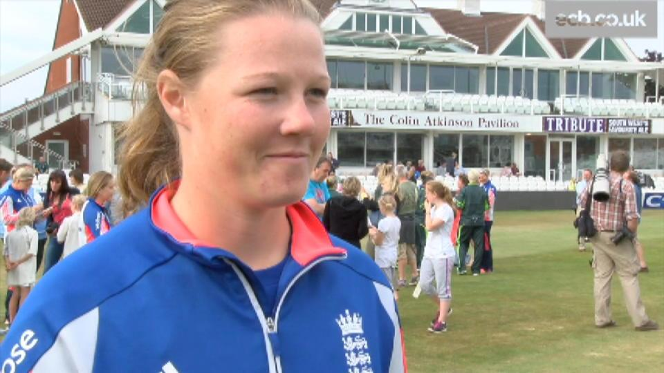 Looking forward to the Ashes Series - Shrubsole