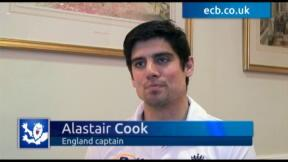 Alastair Cook exclusive - part one