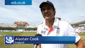 Cook relieved he went for review