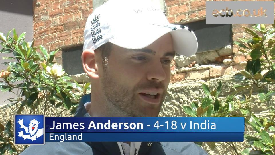 'There's belief in the dressing room' - James Anderson