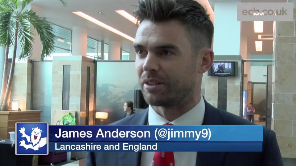 Anderson on four World Cups