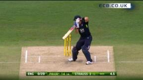 5th ODI - Brisbane - England innings