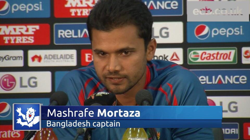 Bangladesh in confident mood - Mortaza