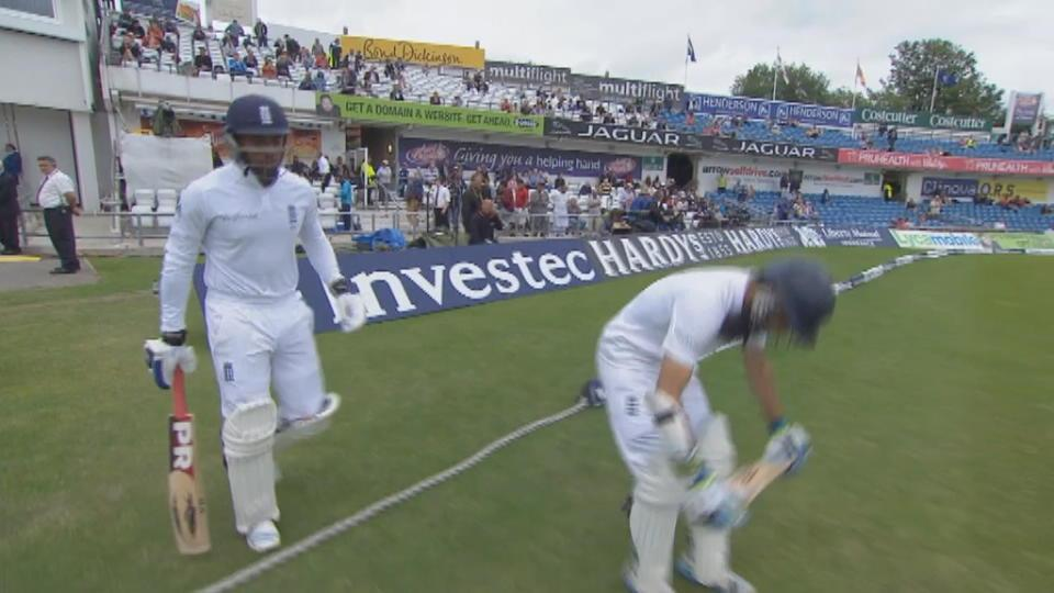 England v Sri Lanka, 2nd Test, Day 5 evening session