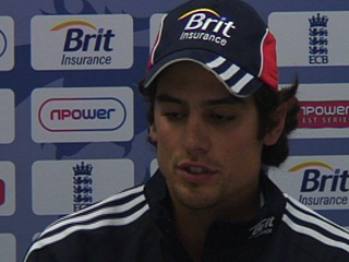 Cook shows his character