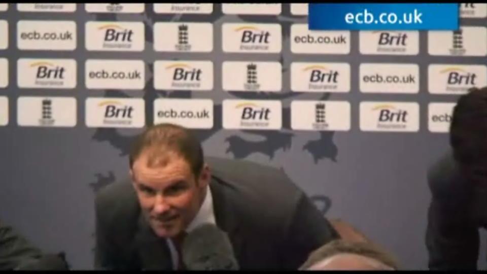 Andrew Strauss retires