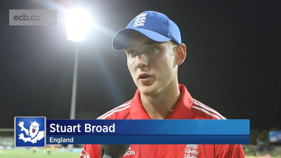 Broad wants more from top order