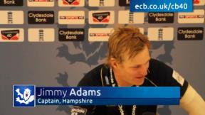 Adams can't believe dramatic win