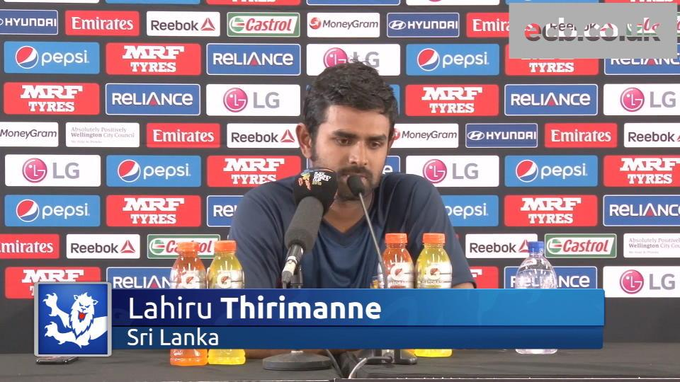 Centurion Lahiru Thirimanne pleased to bat through