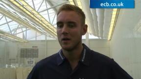 Stuart Broad exclusive interview