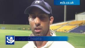 Chopra enjoys century start