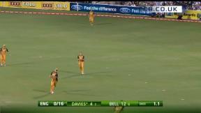 1st T20 - Adelaide - England innings