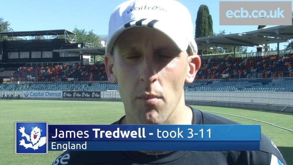 James Tredwell happy with 'good start'