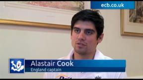 Alastair Cook exclusive - part four