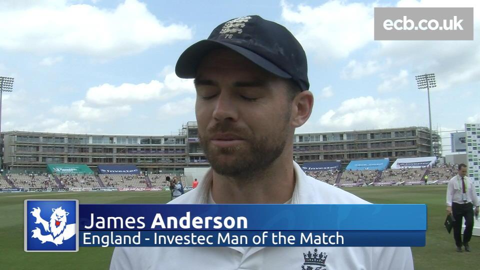 A great performance - Anderson