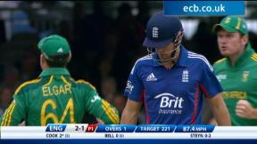 4th NatWest Series ODI - England innings