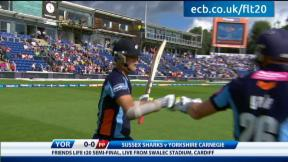 FL t20 semi - Sussex v Yorkshire - highlights