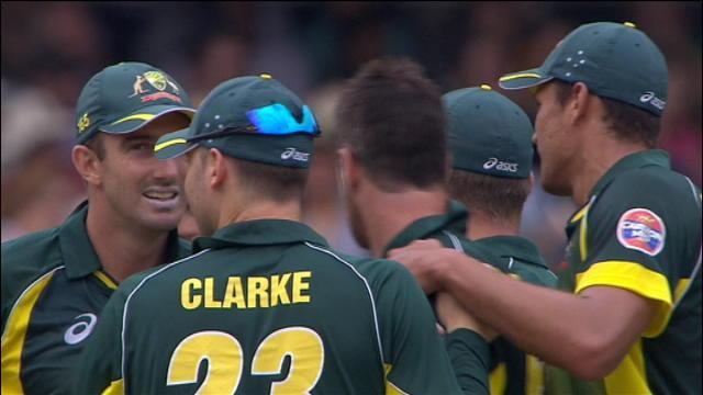 England v Australia: 3rd ODI, Sydney - England innings