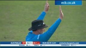 England v Australia - 1st T20 International highlights