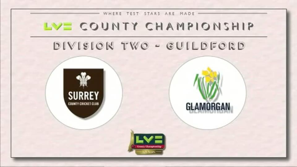 18 June 15: Surrey v Glam - Day 4