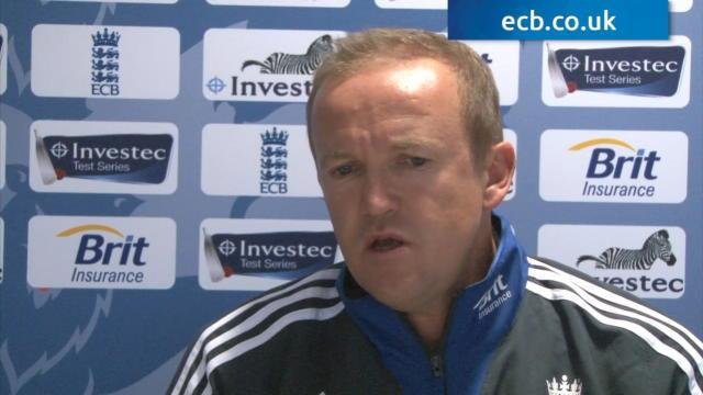 Andy Flower exclusive with ECB Video