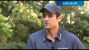 Alastair Cook exclusive